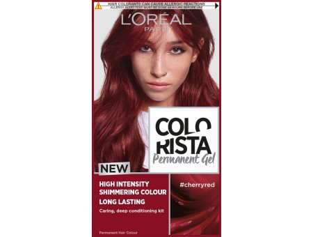 farba Colorista Washout Cherry Red